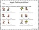 Apple Kids Roll & Graph Activity