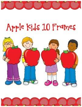 Apple Kids Ten Frames