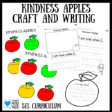 Apple Kindness Craft and Creative Writing for SEL Curriculum