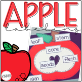 Apple Labeling | Parts of an Apple