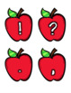 Apple Labels [Letters/Symbols - ALL SIZES]