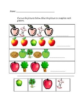Apple Langugae, Writing, and Math Unit