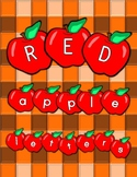 Apple Letter Decorations