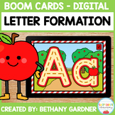 Apple Letter Formation - Boom Cards - Distance Learning
