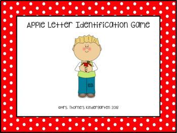 Apple Letter Game