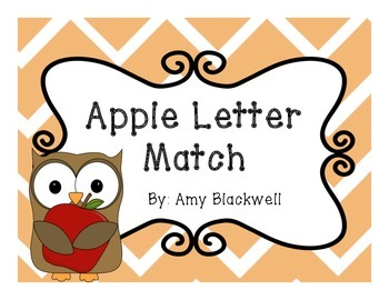 Apple Letter Match