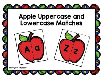 Apple Letter Matching