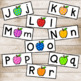 Apple Letter Matching Cards