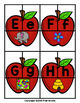 Apple Beginning Sound and Letter Matching Game