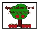 Apple Letter Sound Matching Game