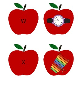 Apple Letter Sounds Game