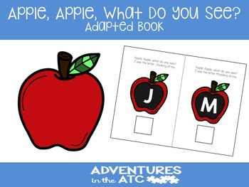 Apple, Apple, What Do You See? Adapted Book