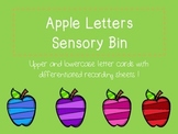 Apple Letters Sensory Cards