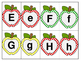 Apple Letters and Numbers