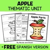 Thematic Unit - Apple Activities