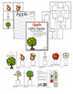 Apple Life Cycle adaptive book and activities