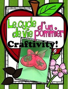 Apple Life Cycle Craftivity ~ French ~ Le cycle de vie d'un pommier