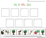 Apple Life Cycle Cut & Paste Sequencing Sheet