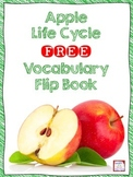 Apple Life Cycle FREE Vocabulary Flip Book