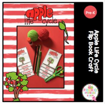 Apple Life Cycle Flip Book Craft