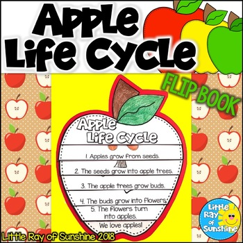 Apple Life Cycle Flip Book for Fall