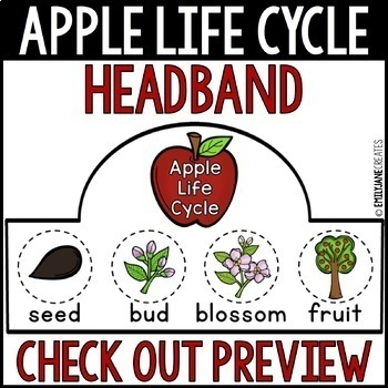 Apple Life Cycle Headband