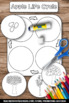 Apple Life Cycle Interactive Science Notebook Activity