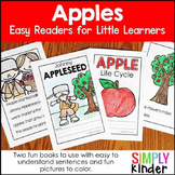 Apple Life Cycle & Johnny Appleseed Reader - Apples Kindergarten & First Grade
