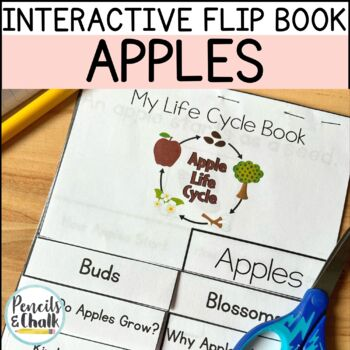 Apple Life Cycle Non-Fiction Flip Book Kit