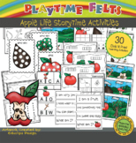 Apple Life Cycle PreK Printable Worksheets