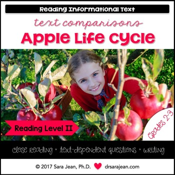 Apple Life Cycle • Reading Comprehension Passages and Questions • RL II