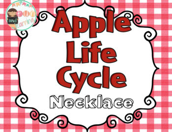 Apple Life cycle necklace