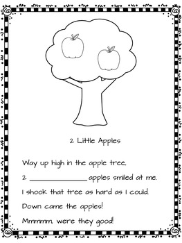 Apple Literacy Activities