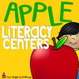 Apple Literacy Centers First Grade