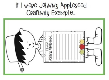 Apple Literacy and Math Activities and Johnny Appleseed
