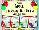 Apple Literacy and Math Bundle | Distance Learning