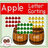 Apple Lowercase and Uppercase Letter Sorting