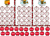 Apple Lunch Count and Attendance