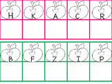 Apple Magnet Letter Activity