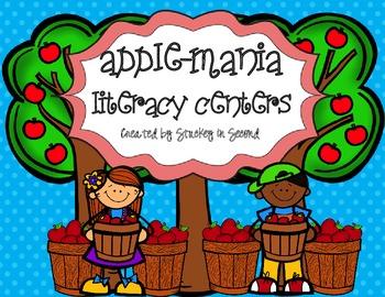 Apple-Mania Literacy Centers (6 Centers!)