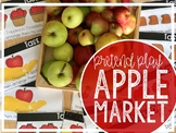 Apple Market Weigh and Play (Pretend Play / Science Center)