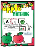 Apple Matching uppercase, lowercase and beginning sounds
