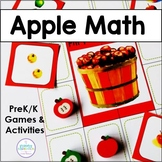 Apple Math for Your Pre-K's and Kindergartners
