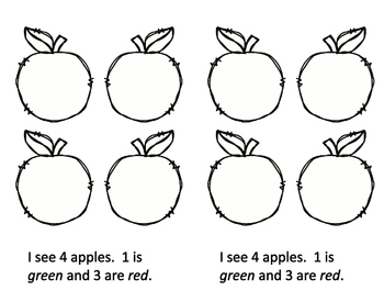 Apple Math Book - 4 books in 1 product