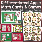 Apple Math Cards & Games (number sense, tally marks, 10 fr