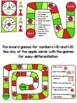 Apple Math Cards & Games (number sense, tally marks, 10 frames, #1-20)