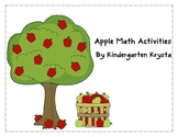 Apple Math Center Activities