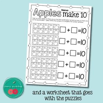 Apples Ten Frames