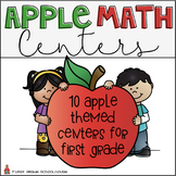 Apple Math Centers for First Grade