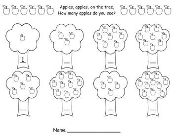 Apple Math - Counting